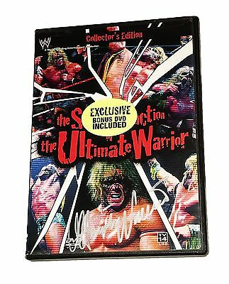 Wwe The Self Destruction Of The Ultimate Warrior Hand Signed Dvd With Pic Proof