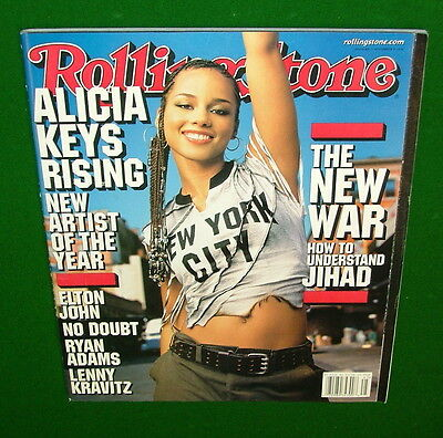 2001 ALICIA KEYS Artist of the Year, Elton John, Understanding Jihad, Ryan Adams