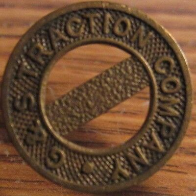 G&S Traction Company New London, CT Transit Trolley Token - Connecticut Conn.