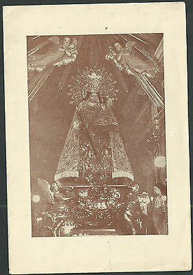 Estampa antigua Virgen de los Desamparados andachtsbild santino holy card