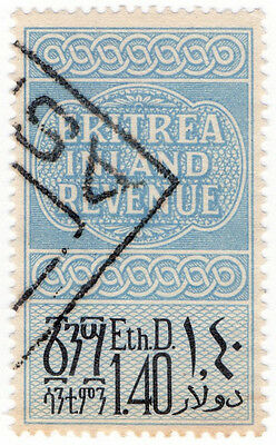 (I.B) BOIC (Eritrea) Revenue : Duty Stamp 1.40