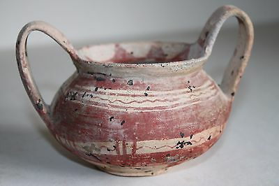 ANCIENT GREEK  POTTERY KANTHAROS 5th CENTURY BC