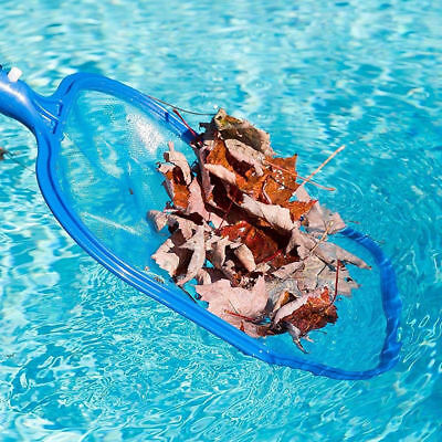 Durable Swimming Pool Leaf Debris Rake Mesh Frame Net Fountain Cleaner Tool