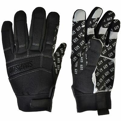 Simpson Wrencher II Car Mechanics Work Workshop Chore Gloves - Black