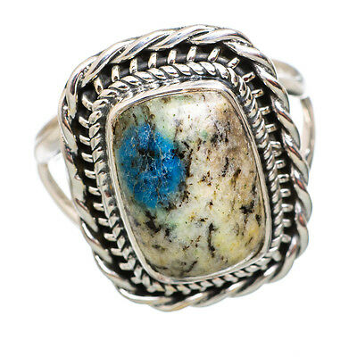 K2 Blue Azurite 925 Sterling Silver Ring Size 9 Ana Co Jewelry R843691