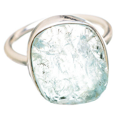Aquamarine 925 Sterling Silver Ring Size 8 Ana Co Jewelry R840482