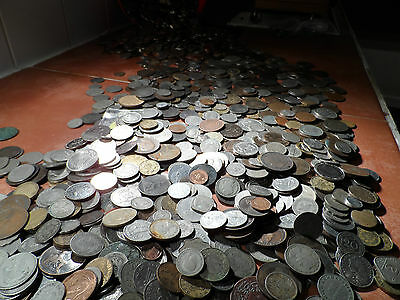 100 British and World Coins Collections & Bulk Lots