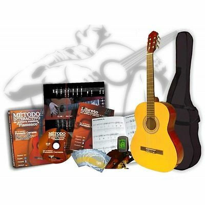 Pack guitarra flamenca 6 en 1 Duquesa