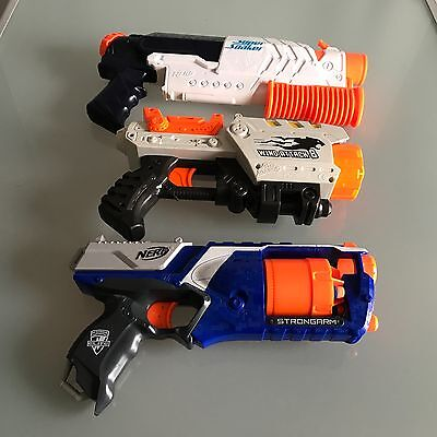 Bundle Nerf Strongarm, Wind Attack-8 and Scatter Blast Super Soaker