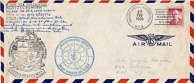 USA 1960 Operation Deepfreeze Antarctic cover posted back to USA