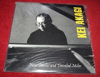 """KEI AKAGI New Smiles And Traveled Miles GROOVE NOTE 180g AUDIOPHILE LP +12"""" NEW!"""