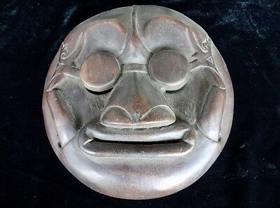 Dayak Wood Mask Collectable Art Traditional Masque Patina Tribal Ethnographic