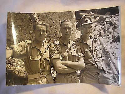 8th Army Cassino Royal Artillery Named Photo Italy Campaign History British