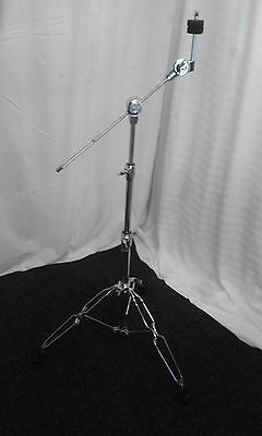 Pearl double braced disappearing boom cymbal stand.