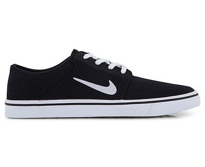 Nike SB Men's Portmore Canvas Shoe - Black/White