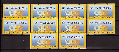 Federal, ATM 3.3 VS2 complete, Shipping points set, mint Machine brands (152)