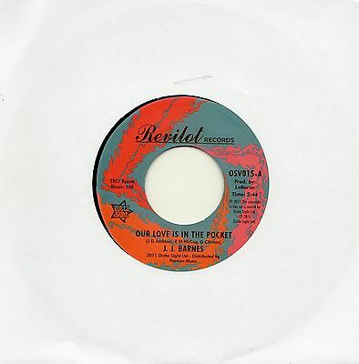 J.j. Barnes - Our Love Is In The Pocket - Northern Soul