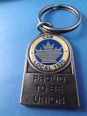 Caw Local 1520 Ford St Thomas Car Plant Canadian Auto Union Keychain Collector