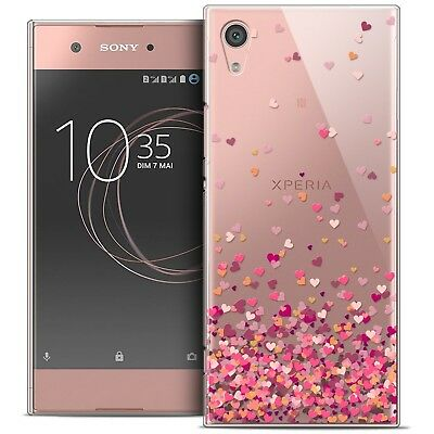 "Coque Crystal Rigide Pour Sony Xperia XA1 (5"") Souple Sweetie Heart Flakes"