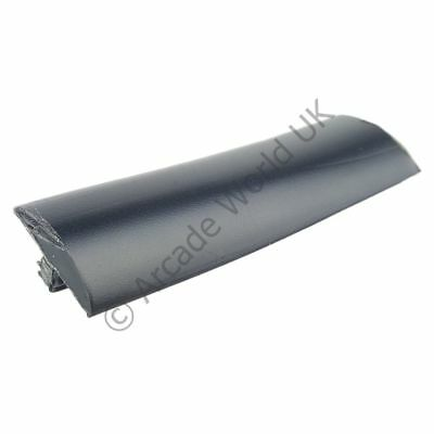 Black T-Molding - 20ft Roll Of 15mm T-Moulding For Arcade Machines