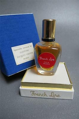 Jacques Griffe Paris French Line 1/2 Oz.  Perfume Unused In Box.. Ultra Rare