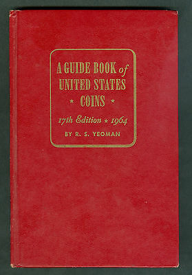 Guide Book Of US Coins 1964 17th Edition Redbook R.S. Yeoman Whitman
