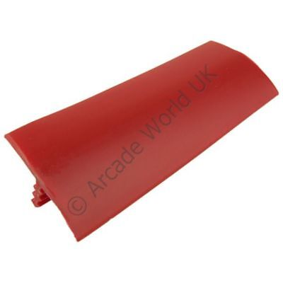 "Red T-Molding 20ft Roll Of 1 Inch (1"") T-Moulding For Arcade Machines"