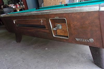 Valley 7 ft. coin op pool table  #PT176