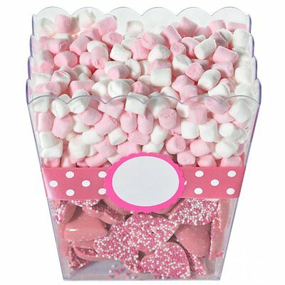 Candy Buffet Display Bowl Container Birthday Wedding Hen Party Popcorn Box Shape
