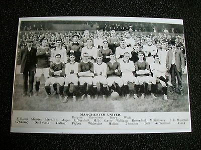 "MANCHESTER UNITED TEAM Early 1900s ?   (A)   6""x4""  Photo REPRINT"