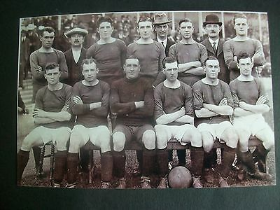 "MANCHESTER UNITED Team  1921/22   (B)   6""x4"" REPRINT POST FREE"