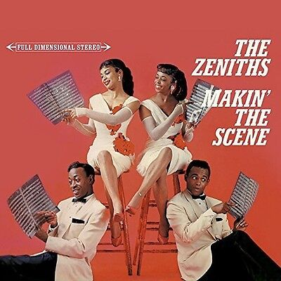 Zeniths - Makin' The Scene Digipack, Stereo; 24Bit Digitally Remastered  Cd Neu