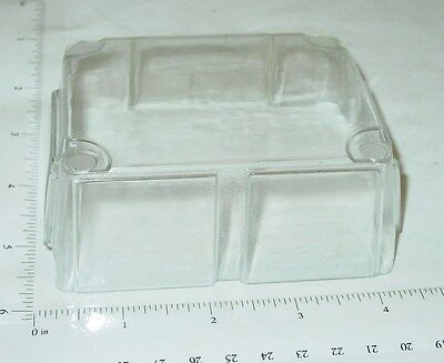 Ertl White Cabover Engine Style Truck Windshield Toy Part