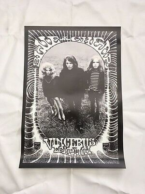 BLUE CHEER - Vincebus Eruptum - Very Limited Print Psych Rock Poster