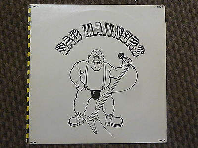 "Bad Manners - 12"" vinyl record LP album - Ska - FREE POST"