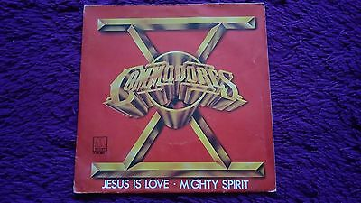 "Commodores ‎– Jesus Is Love ,  Vinyl, 7"", 1981 , Spain , 1-10.157"