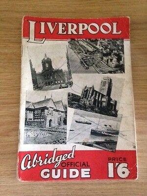 The Abridged Official Guide To Liverpool 1949