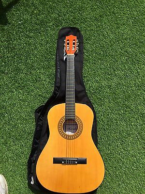 """Herald HL 34  3/4 Size Classical Guitar"