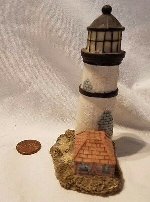 "4"" Lighthouse Figurine (Ceramic World, 1999) #3"