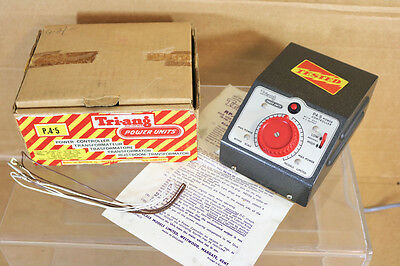 TRIANG HORNBY P4.5 POWER CONTROLLER 240 VOLT 50HZ  0-12V OUTPUT MINT BOXED nk