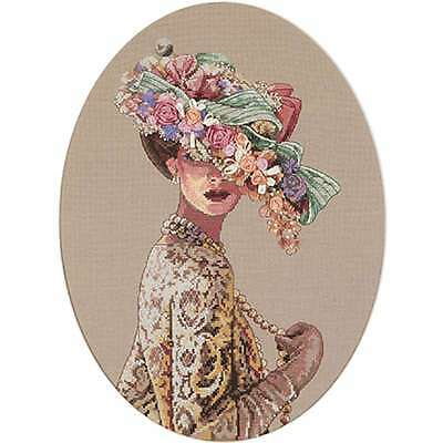 """Gold Collection Victorian Elegance Counted Cross Stitch Kit 11""""X1 088677038236"""