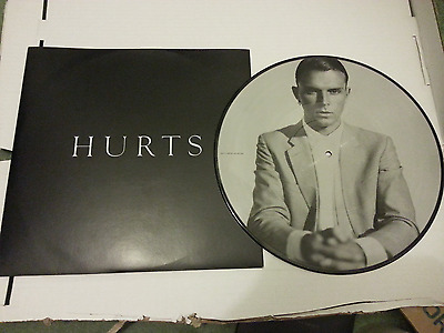 "Hurts - Wonderful life - 12"" picture disc - Arthur baker - UNPYD PROMO STICKERED"