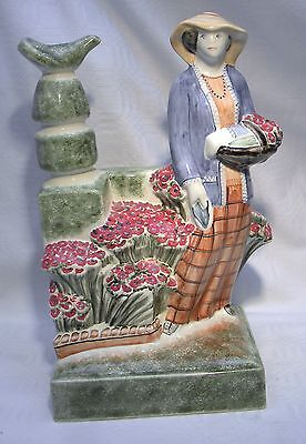 Rye Pottery  Figure  The Country Lady Gardener