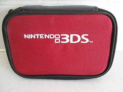 Nintendo 3DS Red Soft / Hard Case never used