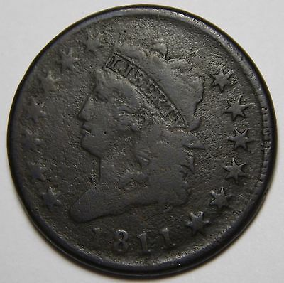 1811/0 Large Cent Liberty Head Coin Lot # MZ 4501