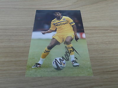 Reading fc Jobie McAnuff  signed 6x4 action photo