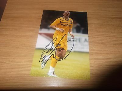 Reading fc Noel Hunt signed 6x4 action photo