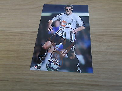 Bolton Wanderers fc Sam Ricketts signed 6x4 action photo