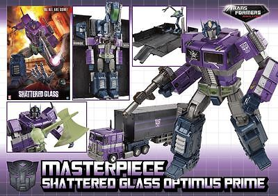 Transformers Masterpiece Shattered Glass Optimus Prime NEW