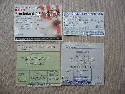 NEWCASTLE UNITED v SUNDERLAND 1981 FRIENDLY MATCH TICKET